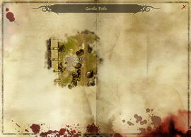 Map-Gentle Path