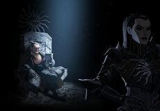 Кассандра и Варрик (концепт-арт)