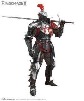 Концепт тяжелой брони (Dragon Age II)
