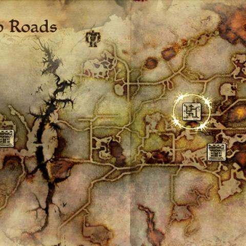 Caridins Kreuzung ist ein Knotenpunkt nahe Orzammar