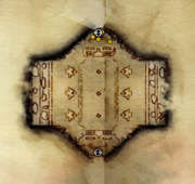 Halle der Helden Karte