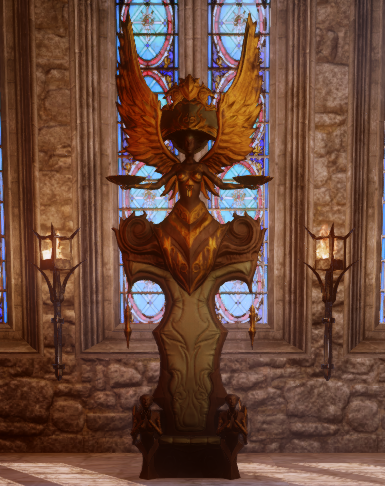 Orlesian Throne Both Accessories Png