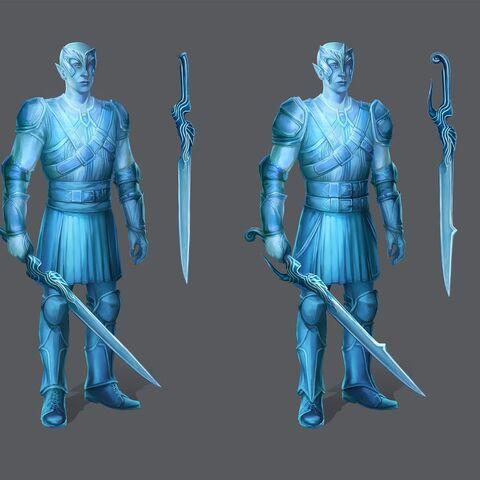 Artwork of Shartan's tier progression in <i><a href=