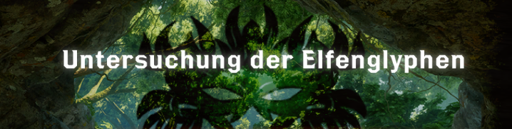 Untersuchung der Elfenglyphen - Font