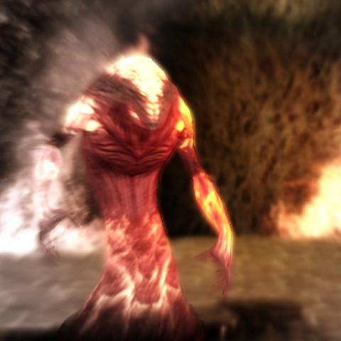 A rage demon