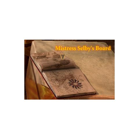 Mistress Selby's Board