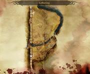 Banditen auf der Straße Karte