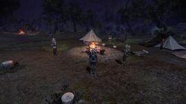 Campamento del grupo