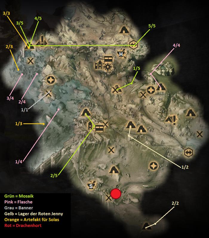 Kammwald - Karte