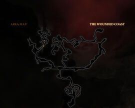 Wounded coast map