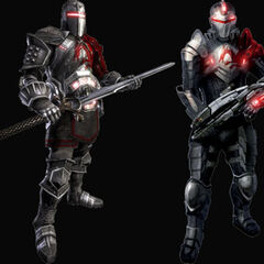 Dragon Age/Mass Effect versions of Blood Dragon Armor