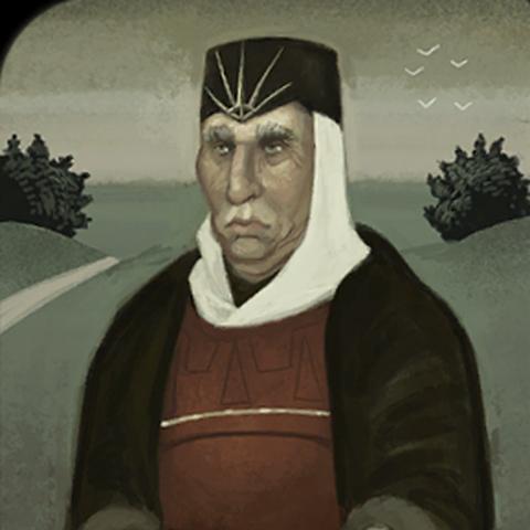 Roderick tarot card