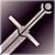Большой меч фиолетовый