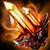 Большой огненный кристалл