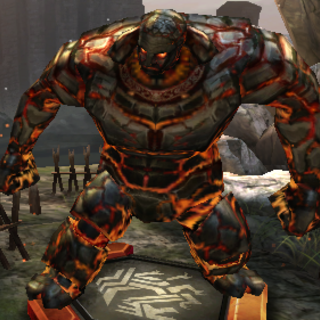 Inferno golem in <i><a href=