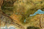 Карта Орлея