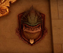 Krogan Head Mount at the Winter Palace