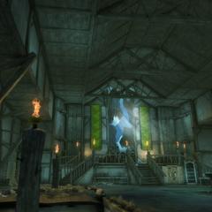 Wnętrze wieży