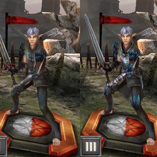 Fenris w Heroes of Dragon Age