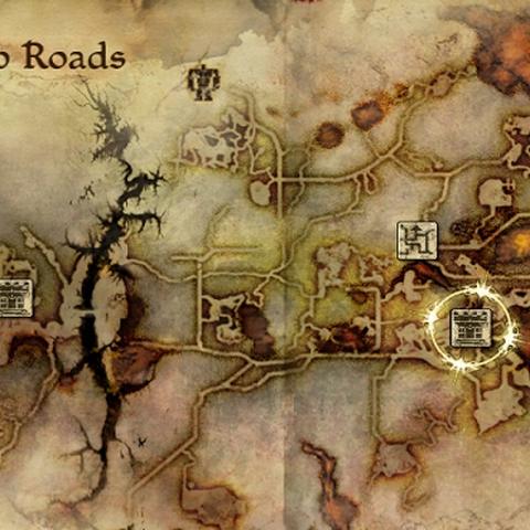 Karte der Tiefen Wege in Origins