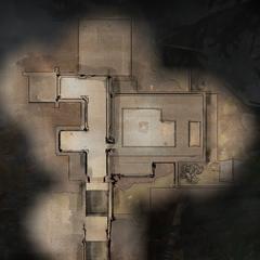 Karte des Hauptbereiches