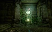 Der besänftigte Geist - erste Tür