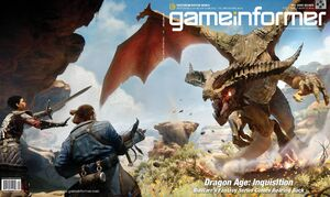 GameInformer September Cover Dragon Age- Inquisition