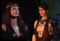 Marsha and Morrigan