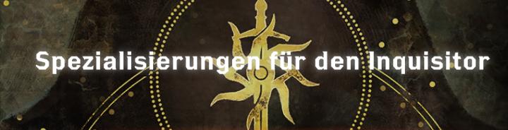 Spezialisierungen für den Inquisitor - Font