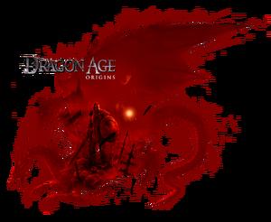 Логотип Dragon Age- Origins