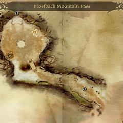 Der Pass am Frostgipfel-Gebirge (Origins)