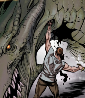 Великий дракон и каленхад