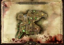 Mapa Czarnych Mokradeł