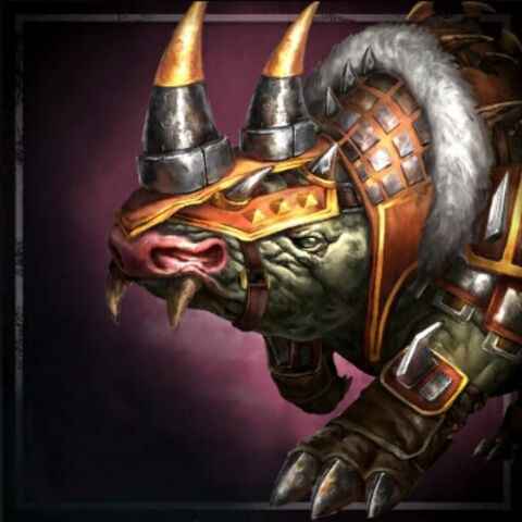 Promotional image of Snug the Bronto in <i>Heroes of Dragon Age</i>