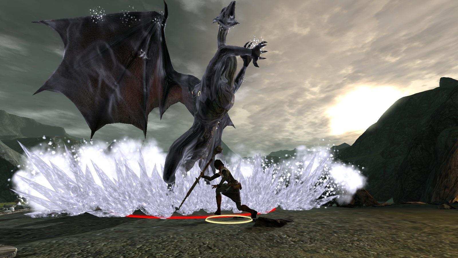 Bethany vs. Mature Dragon