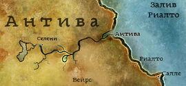 Селени карта