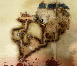 Deep Roads Grotto Map