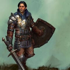 Loghain in Heroes of Dragon Age