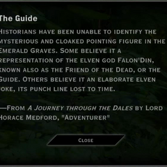 The Guide Landmark Text