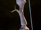 Украшенная рукоять длинного лука