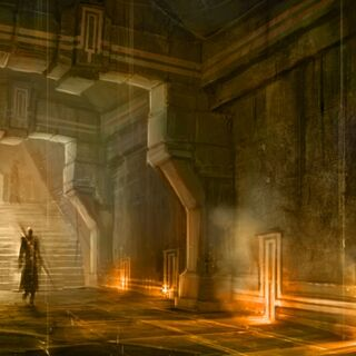 Concept art for <i>Dragon Age II</i>