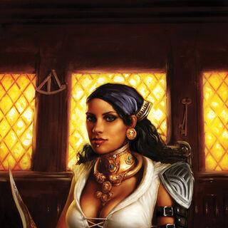 Cover for <i>Dragon Age: Those Who Speak</i> #2.