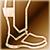 Легкие сапоги (золотые)