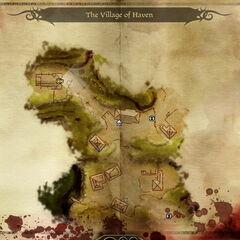 Mapa Azylu w <i>Początku</i>