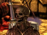 Devouring skeleton