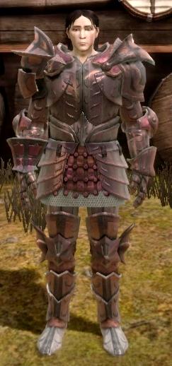 Wadeu0027s Superior Dragonbone Plate armor set  sc 1 st  Dragon Age Wiki - Fandom & Wadeu0027s Superior Dragonbone Plate armor set | Dragon Age Wiki ...