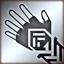 Light gloves silver DA2