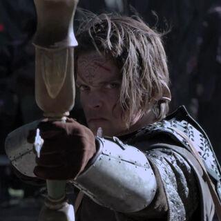 A Dalish archer