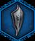 Храмовничий командирский щит (иконка)