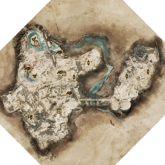 Karte des Areals